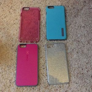 Four iPhone 6/6s Plus cases